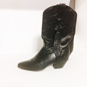 Laredo Vintage leather cowboy boots